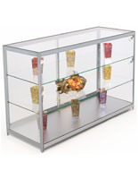 Retail Glass Countertop Display Case