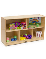 Kids Wooden Storage Unit with GREENGUARD Gold Certification