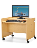 Mobile Kids Computer Workstation
