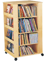 4-Sided Kids Book Organizer