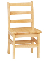 "12"" Classroom Chair with Wood Construction"