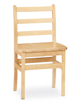 Kids Hardwood Chair with Baltic Birch Construction