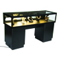 "60"" Wide Lockable Jewelry Display Case"