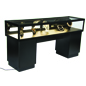 Locking Jewelry Display Case with Top Lighting