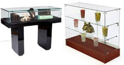 jewelry display cases for necklaces & bracelets