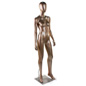 Bronze Female Mannequin with Metal Base