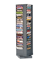 80 Pocket Revolving Literature Displays Metal Magazine Racks