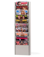 magazine display