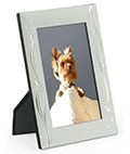 Elegant Picture Frames Have a Satin Silver, Plated Aluminum Finish