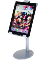Silver iPad Countertop Mount