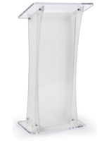 Frosted Portable Lectern for Schools