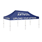 10x20 pop up event canopy with durable aluminum frame