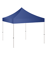 5x5 pop up canopy with UV resistant navy blue topper