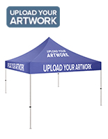 CIM体育tom printed 10x10 canopy with full color graphics
