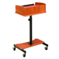 Cherry Lectern with Casters