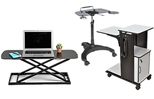 Laptop Carts and Workstations