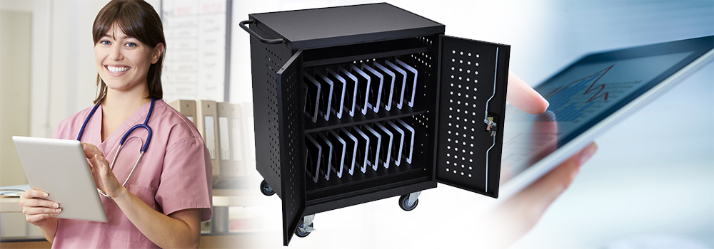 Laptop and Tablet Charging Stations