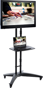 Laptop Workstation with Laptop and External Display