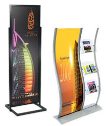 Large Poster Stands