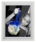 11x14 Thin White Picture Frame for Photos