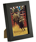 "4"" x 6"" Photo Picture Frame in Black"