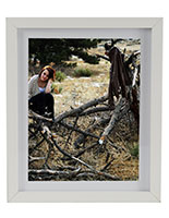 wooden matted photo frames