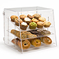 3 tier plastic food bins