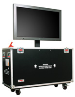 LCD Shipping Case with Universal Mounting Bracket