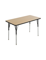 "Elementary School Table with 1"" MDF Top"