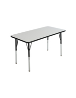 Height Adjustable Whiteboard Desk