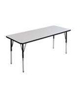 Rectangular Whiteboard Table