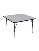 Square Daycare Table with Rounded Corners