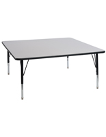 Height Adjustable Square Activity Table
