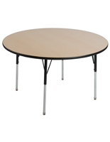 Round Maple School Table