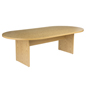"Oak Conference Table, 29"" Overall Height"