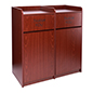 Waste Cabinet with Double Doors