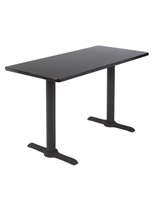 "Black Lecture Table, 29"" Overall Height"