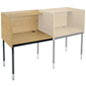 Height Adjustable Reading Carrel