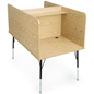 Melamine Study Carrel Desk