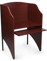 Mahogany Office Carrel