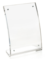 clear acrylic magnetic frame lift open