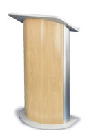 Curved Speakers Podiums