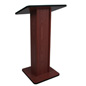 "Scratch Resistant Lectern, 15"" Overall Depth"