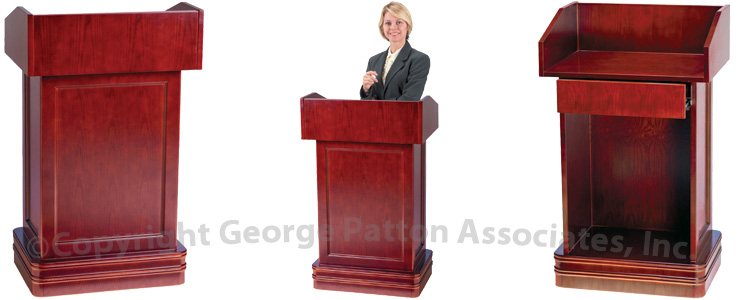 lecterns podiums