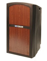 "47"" Tall Rolling Weatherproof Podium"