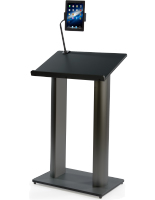 Podium with iPad Bracket for Innovative Speech Making
