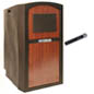 Sound System Lectern with Weatherproof Shell