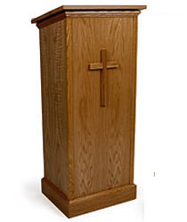 Wood Pulpit