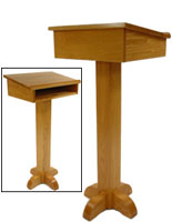 Pulpit Speaker Stand & Storage Shelf