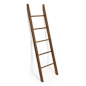 5 rod leaning ladder rack